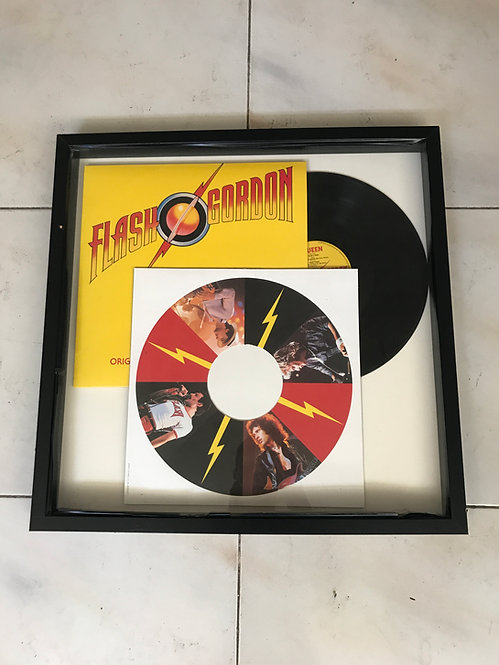 CUADRO VINILO QUEEN FLASH