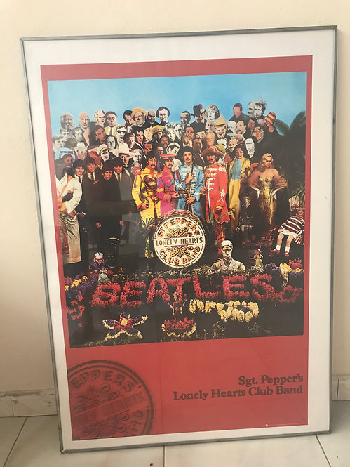 CUADRO POSTER THE BEATLES SGT PEPPERS 2
