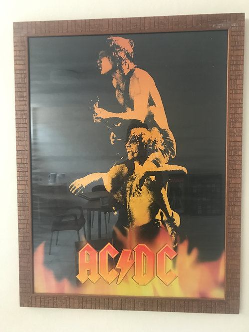 CUADRO POSTER AC/DC