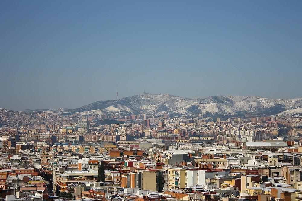 Barcellona in inverno