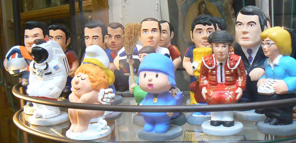 personaggi caganer, Barcellona