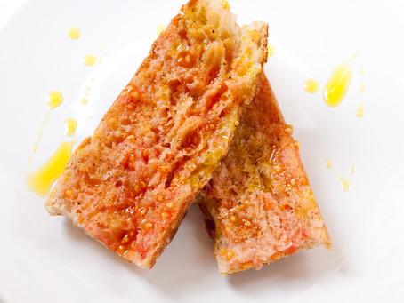 Pan con tomate anche a colazione!
