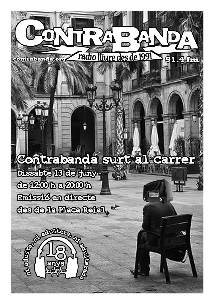 Radio libera Barcellona Contrabanda