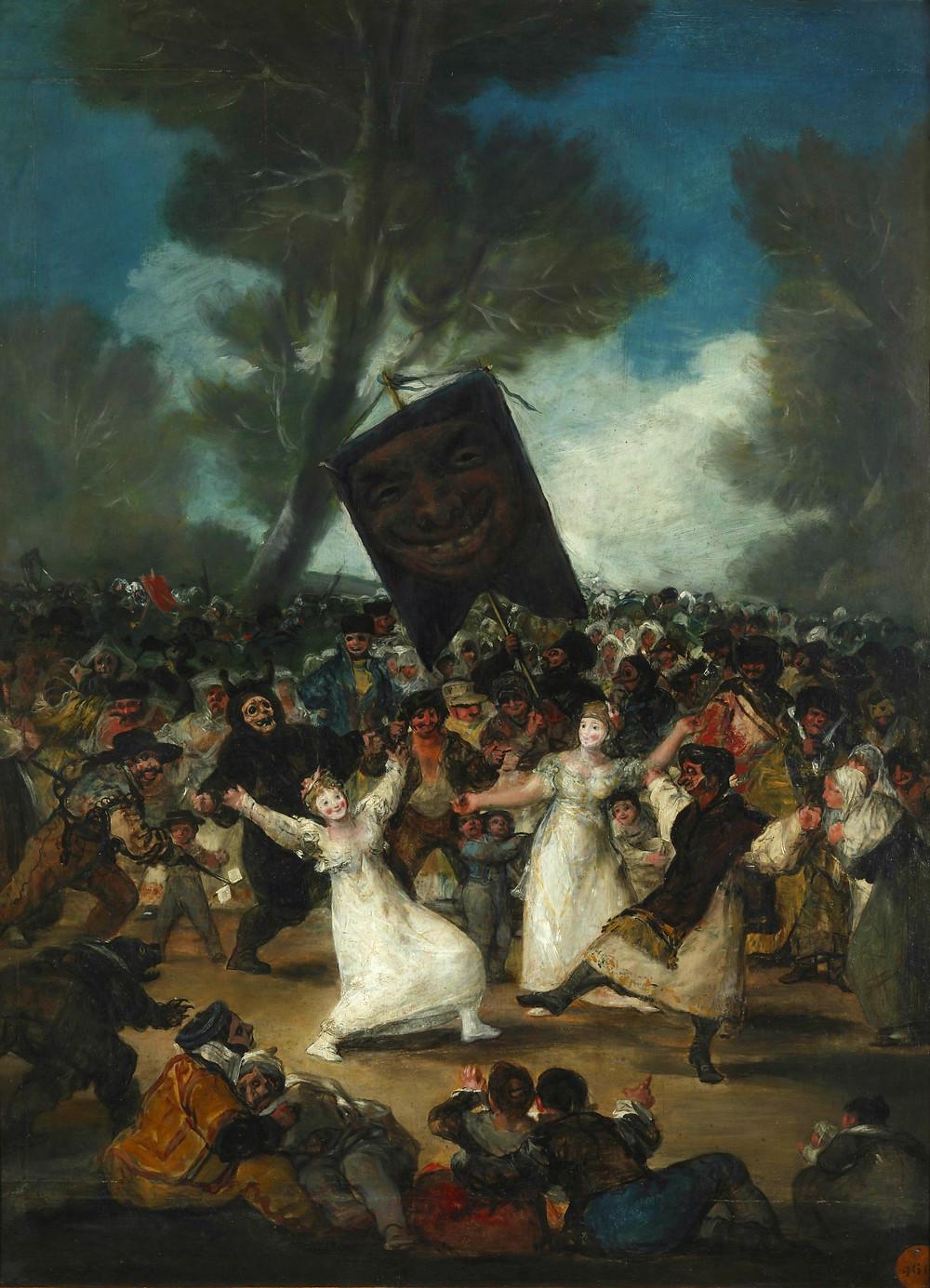 Entierro de la sardina Goya Madrid
