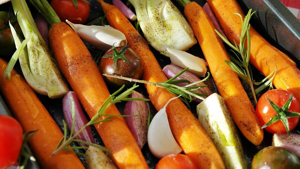 Verdure fresche per ricetta di Barcellona