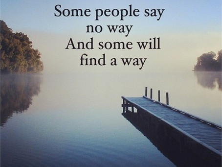 Find your way....
