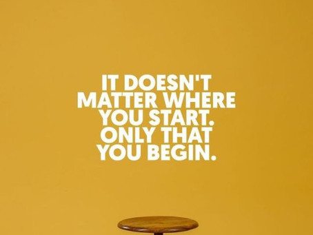 You start and Finish