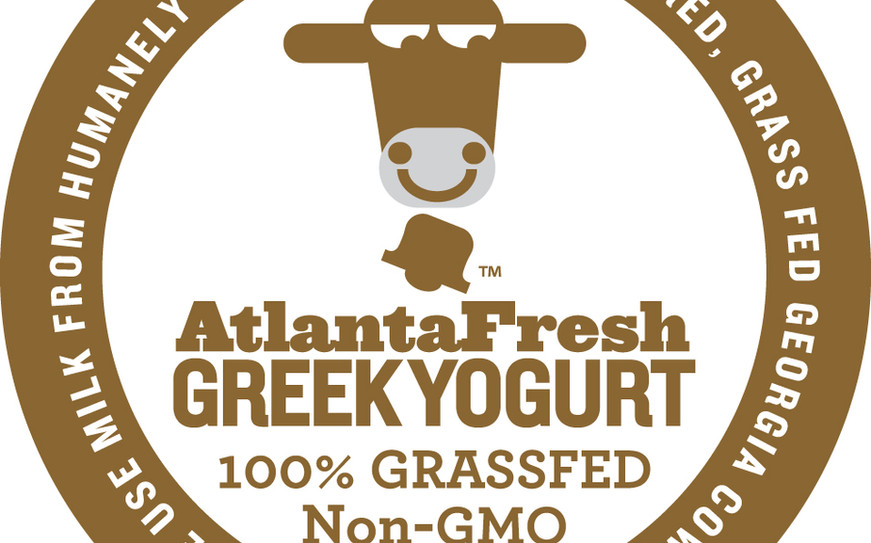 The design of the foil lid of the AtlantaFresh yogurt cups was a natural graphic to apply to the website. It provided a fast connection to the product for users searching for retailers.