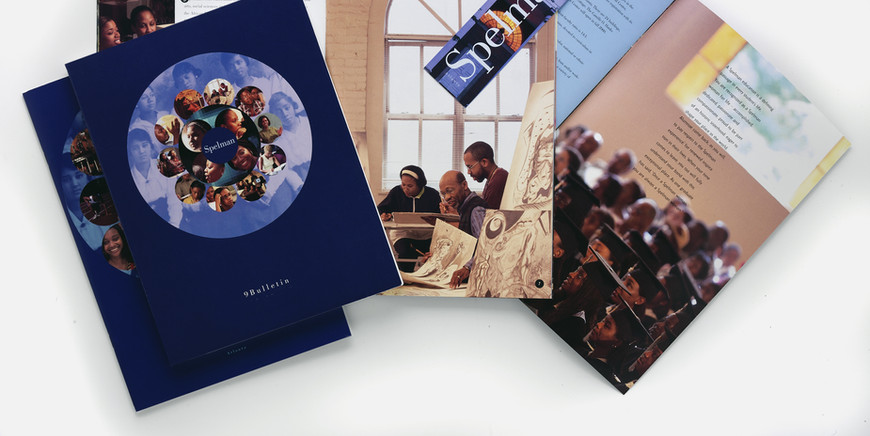 Full program of admission materials with a Fast Facts bookmark that became the most popular item year after year.
