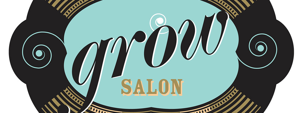 A basic script logo was given several treatments based on medium: signage, website or business cards. This was the  brick and mortar sign graphic. The client requested a retro barber feel.