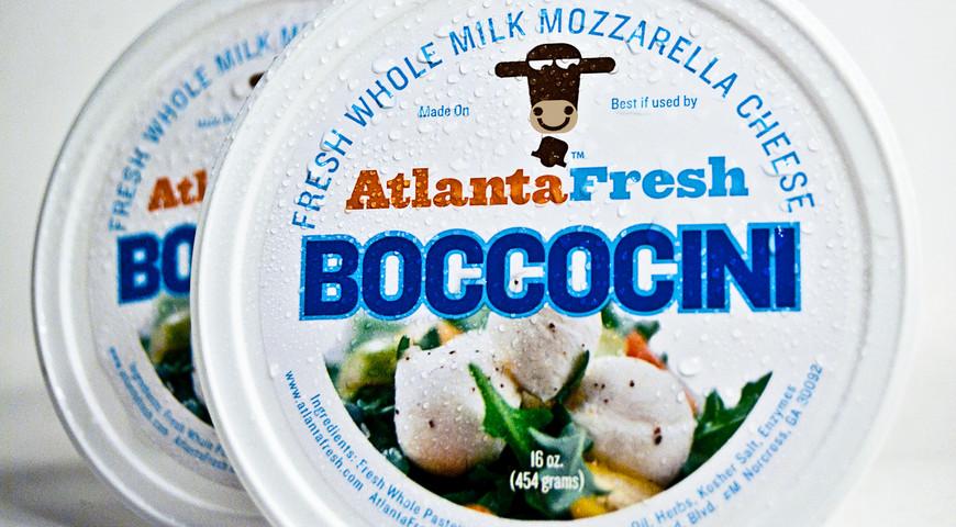 AtlantaFresh Mozzerella Package Design, circa 2008