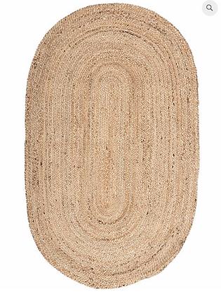 Jute Oval Rug