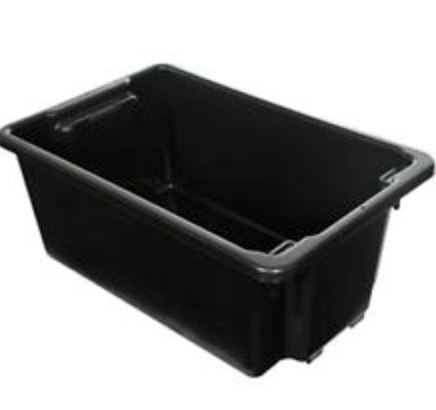 Large Black Drinks Tub