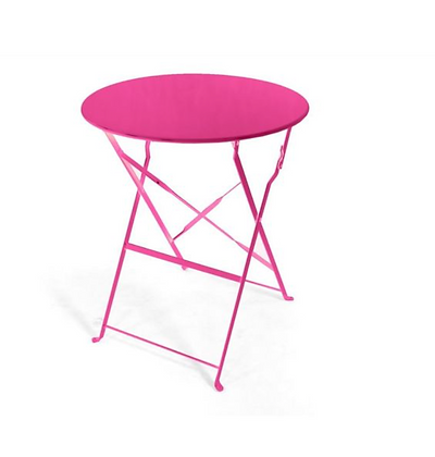 Pink Bistro Table