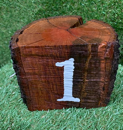 Red Gum Table Numbers