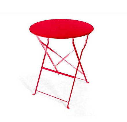 Red Bistro Table
