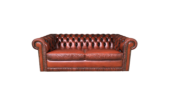 Maroon Chesterfield