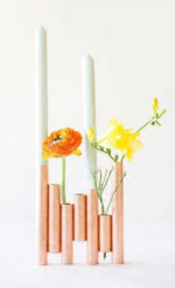 Copper Flower Holder