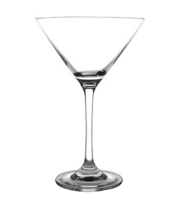 Plastic Martini Glass