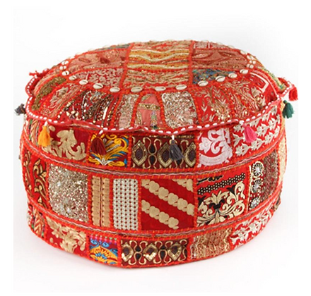 Traditional Moroccan Pouf
