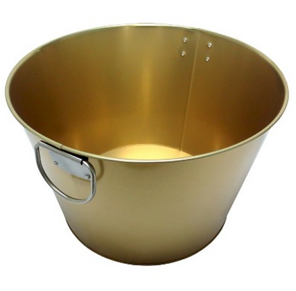 Gold Drinks Tub