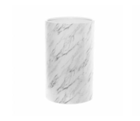 Large Ceramic Marble Vase