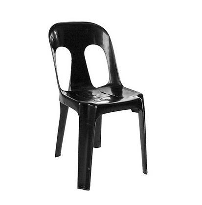 Black Plastic Chairs