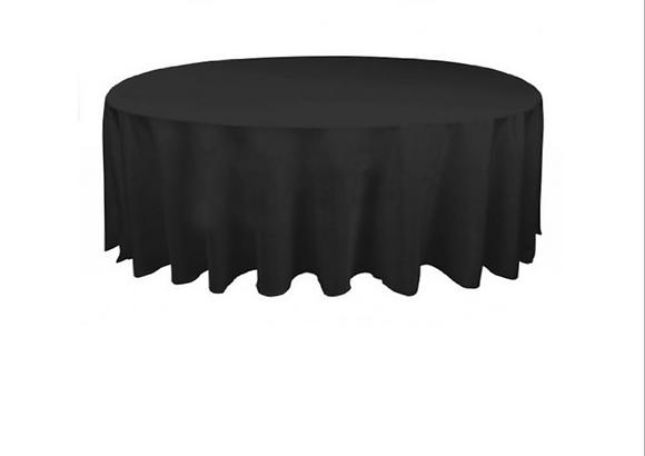 Black Round Linen - 305