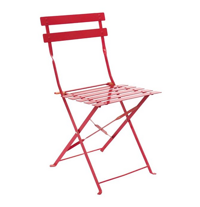 Red Bistro Chair