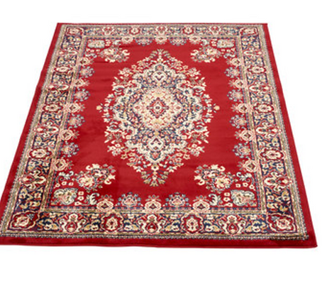 Crimson Medallion Rug