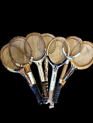 Vintage Wooden Racquets