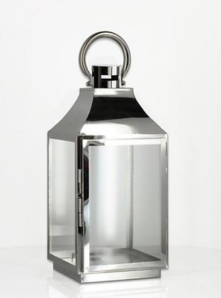 44cm Silver Lantern