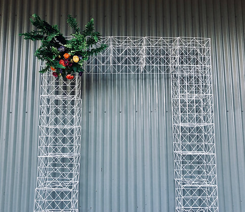 Wire Cube Arbour