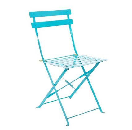 Blue Bistro Chair