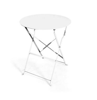 White Bistro Table