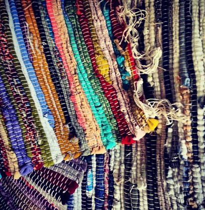 Multicoloured Jute Rugs