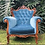 Thumbnail: Vintage Royal Blue Armchair