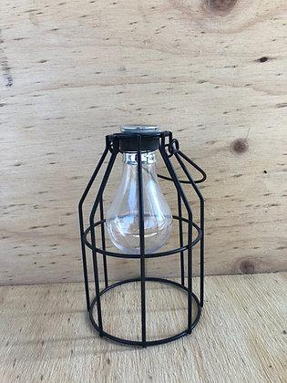 Solar Cage Light