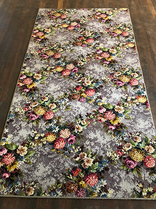 Grandma's Floral Rug