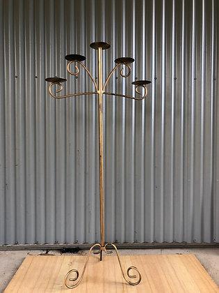 Floor Standing Gold Candelabra