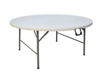 1.8m Round Trestle Table
