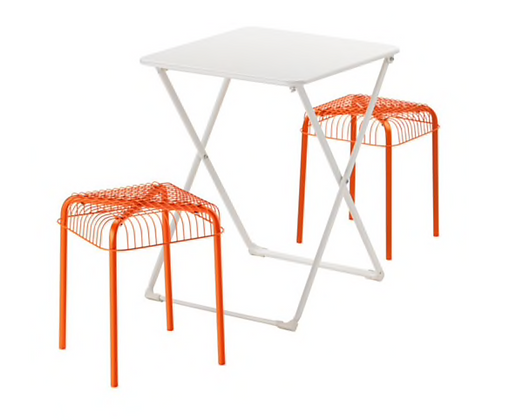 White Foldable Table