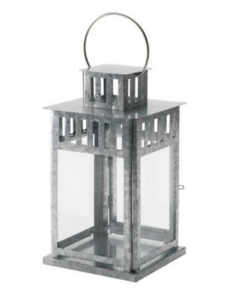 Large Galvanised Lanterns