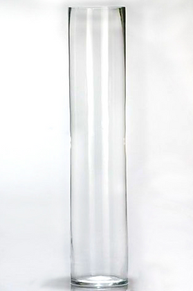 75cm Cylinder Vase