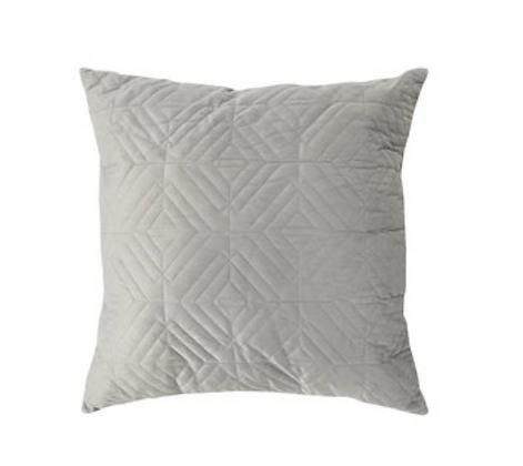Grey Textured Cushion
