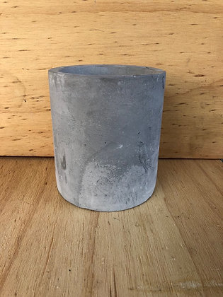 Large Cement Candle