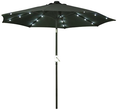 Charcoal Market Umbrella