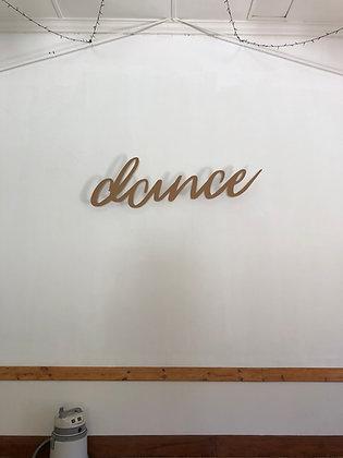 Dance Sign
