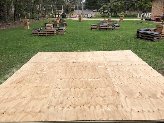 Wooden Dancefloor