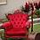 Thumbnail: Vintage Ruby Armchair